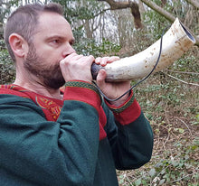 Load image into Gallery viewer, Medium Viking Blowing Horn / Bugle