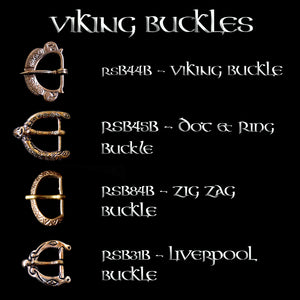 Bronze Viking Buckle Options for 1 inch Viking Belts - Viking Clothing