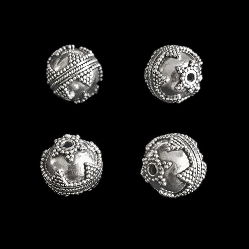 Silver Viking Beads from Visby - Triangles