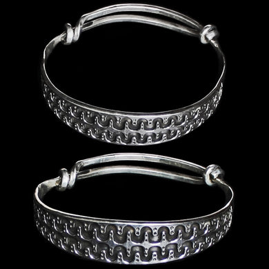 Silver Viking Arm Ring From Halleby - Viking Bracelets