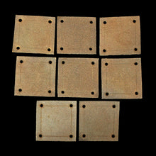 Load image into Gallery viewer, Handmade Leather Viking Weaving Tablet
