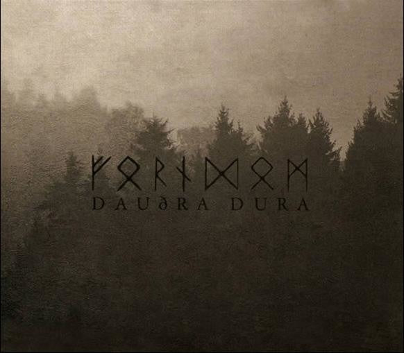Daudra Dura Cd By Forndom - Viking Cds