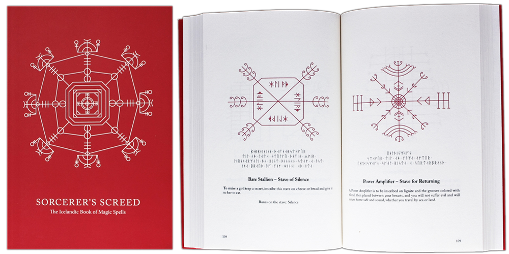 Sorcerer's Screed - The Icelandic Book of Magic Spells