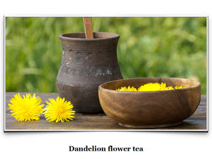 Eat Like a Viking Book - Dandelion Flower Tea