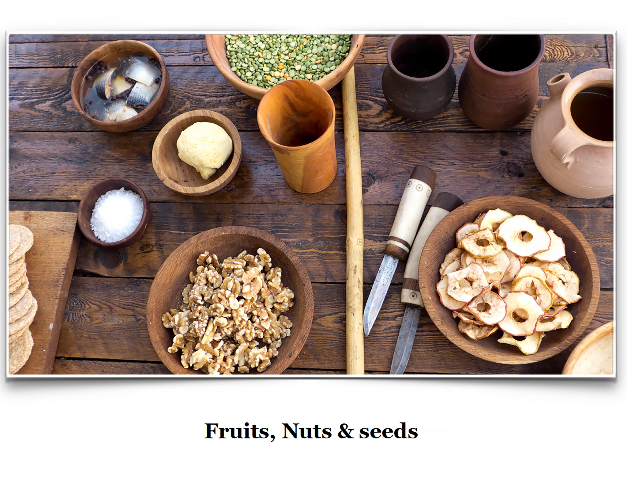 Eat Like a Viking Book - Fruits, Nuts & Seeds