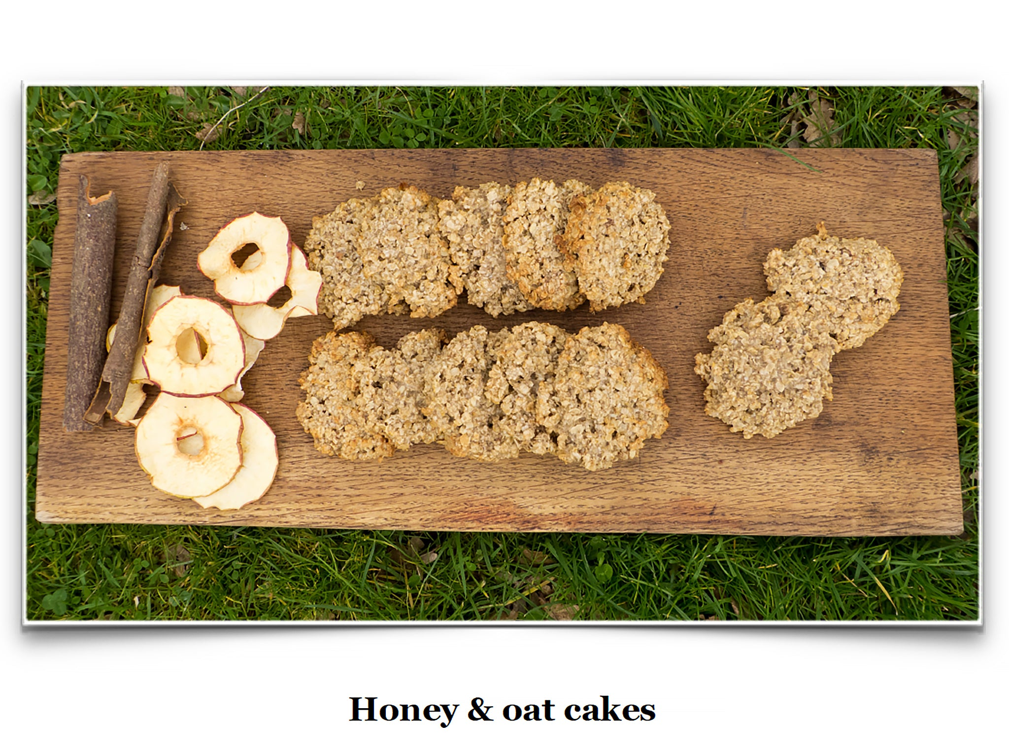 Eat Like a Viking Book - Honey & Oat Cakes