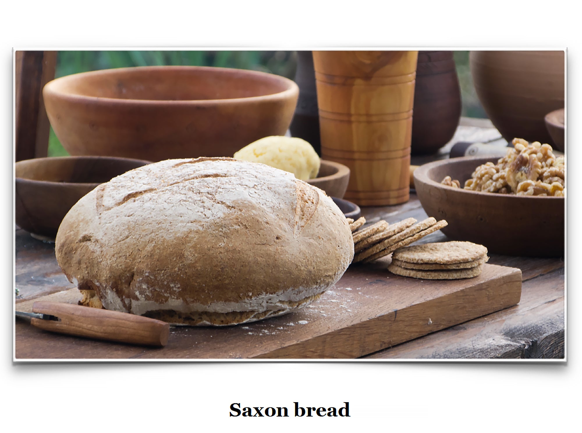 Eat Like a Viking Book - Saxon Bread