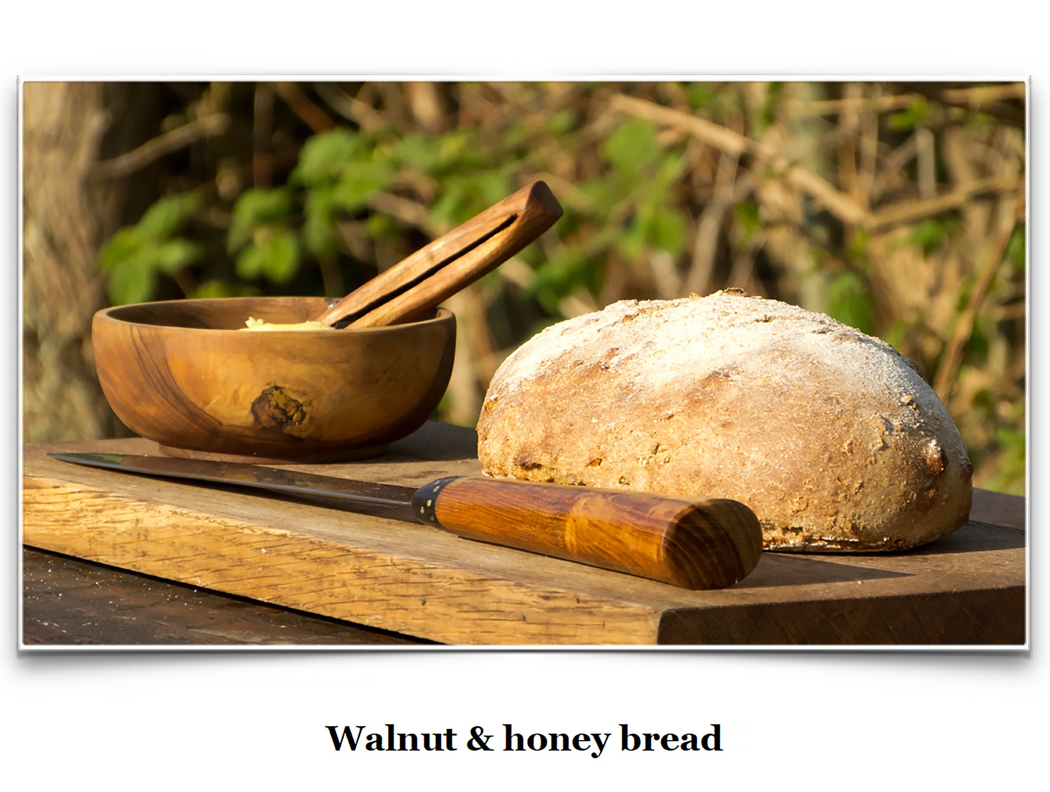 Eat Like a Viking Book - Walnut & Honey Bread