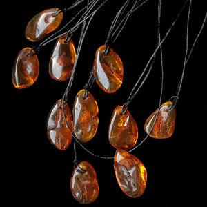 Amber Viking Pendants / Amulets - Viking Jewelry