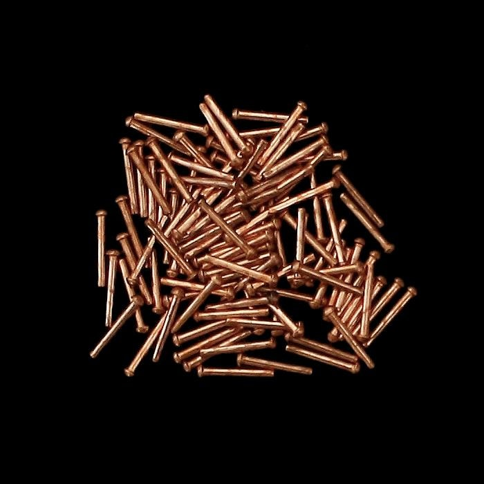 Dome Head Copper Rivets - 1/16 Inch - 100 - Belts & Fittings