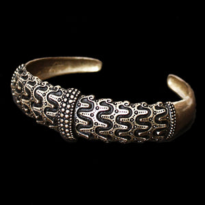 Bronze Replica Viking Arm Ring from Falster - Viking Bracelets & Arm Rings