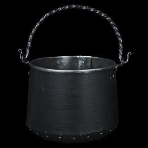 Hand-Forged Iron Cauldron - 5 Litre