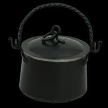 Load image into Gallery viewer, Hand-Forged Iron Cauldron - 5 Litre with Lid