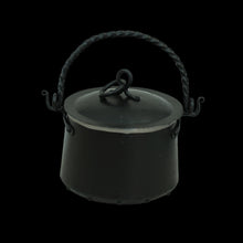 Load image into Gallery viewer, Hand-Forged Iron Cauldron - 3 Litre with Lid