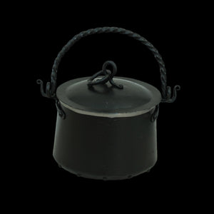 Hand-Forged Iron Cauldron - 3 Litre with Lid