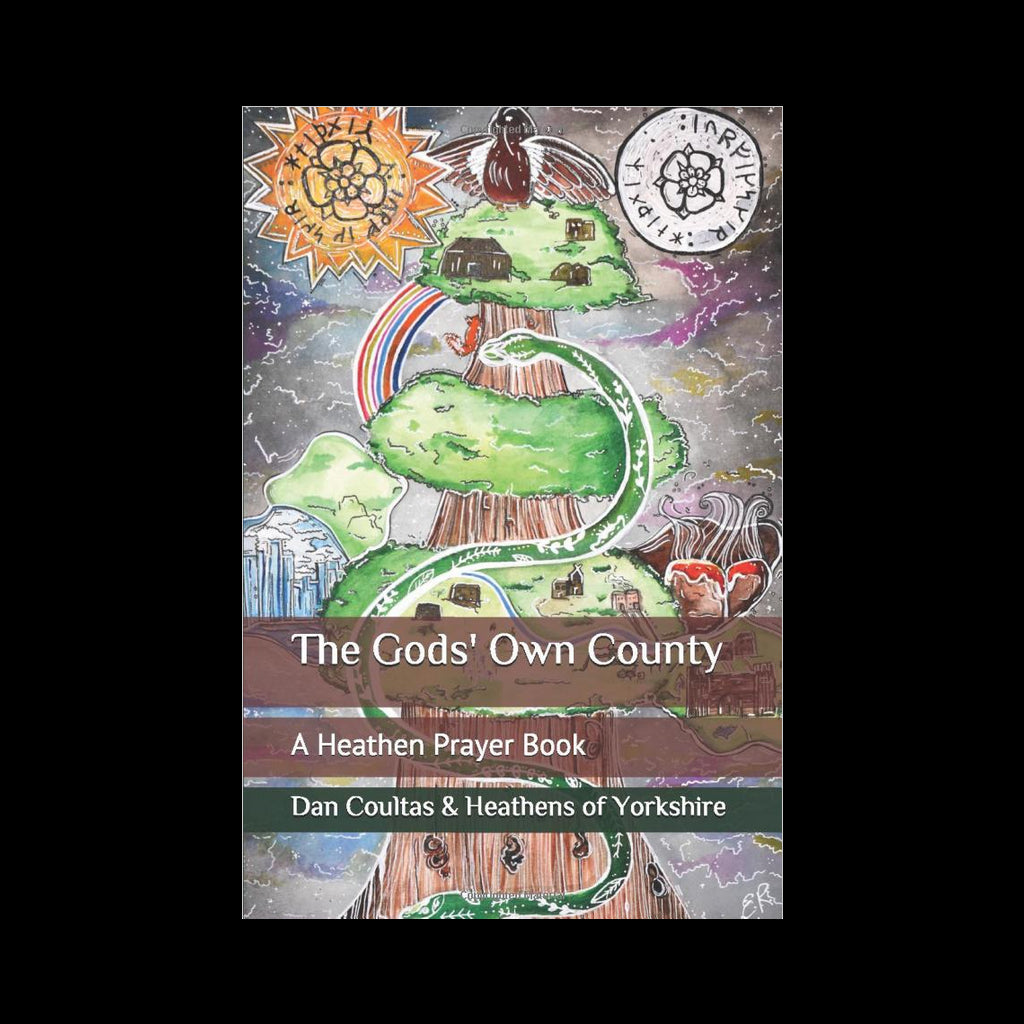 The Gods' Own County - A Heathen Prayer Book - Front Cover