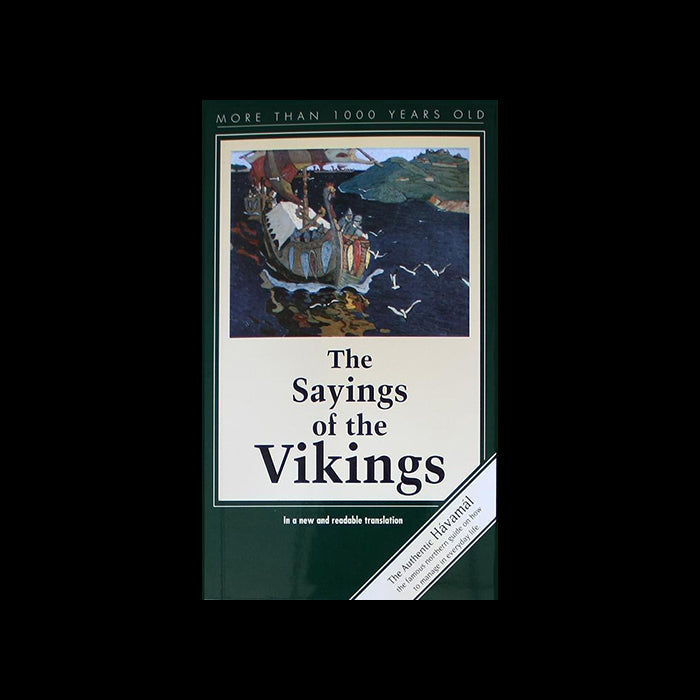 Viking Sayings Book - Simple Havamal - Viking Books