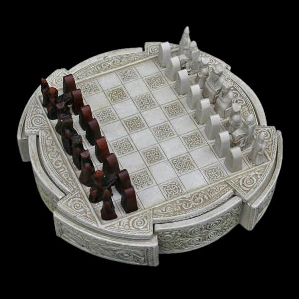 Lewis Chess Set - Viking Games
