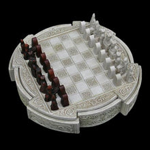 Load image into Gallery viewer, Lewis Chess Set - Viking Games