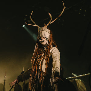 Heilung's Karolina Janikunaite Performing Live - Viking Dragon Music