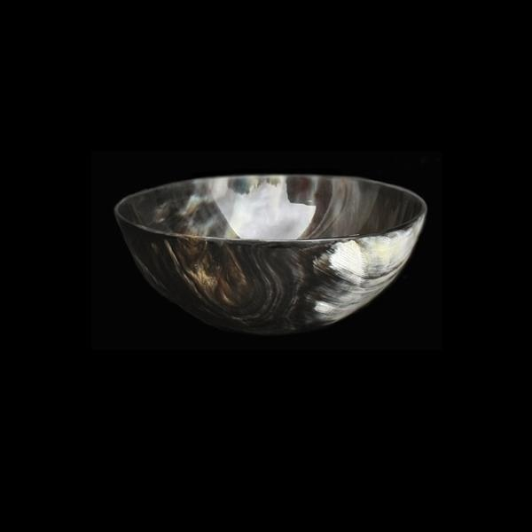 Polished Horn Bowl - Bowls & Plates