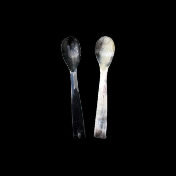 Horn Egg Spoon - Viking Eating Utensils