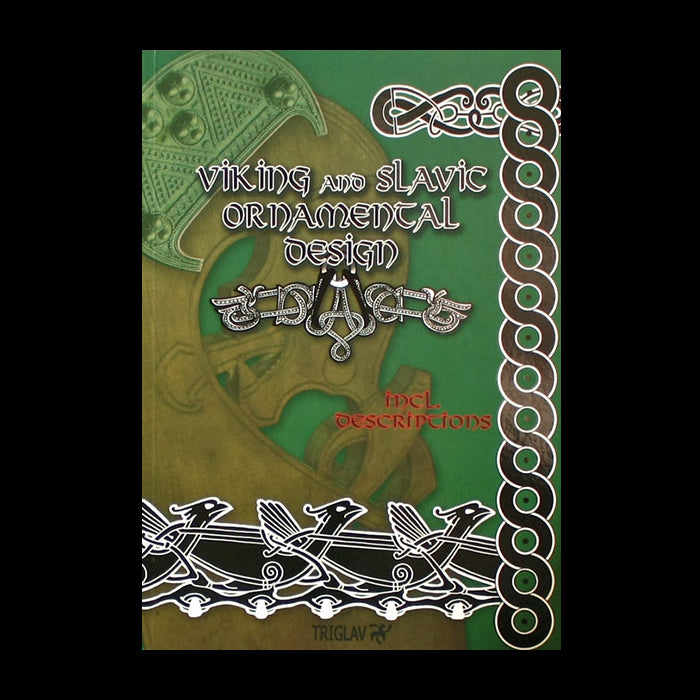 Viking And Slavic Designs Book - Vol 1 - Viking Craft & Design Books