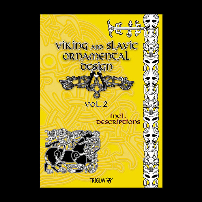 Viking And Slavic Designs Book - Volume 2 - Viking Craft & Design Books
