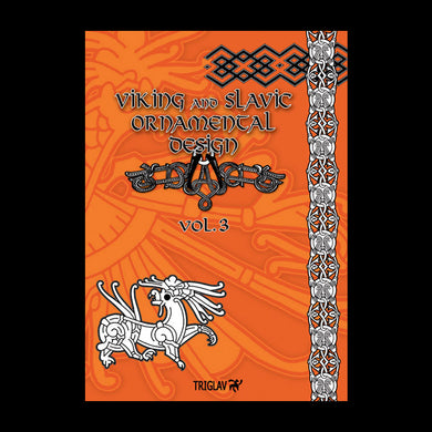 Viking And Slavic Designs Book - Volume 3 - Viking Craft & Design Books
