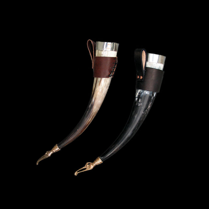 Small Custom Viking Drinking Horn