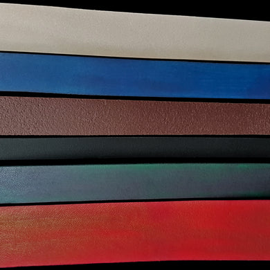 Leather Belt Straps in 6 Different Colours - Viking Craft Supplies