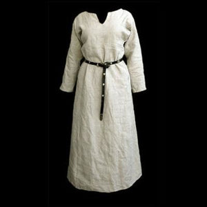 Natural Linen Viking Womens Dress - Womens Viking Clothing