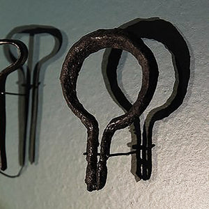 Original Viking Mouth Harps in the Viking Ship Museum, Denmark