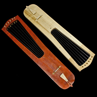 Handmade Trossingen Lyres in Natural & Mahogany Colour - Viking Instruments