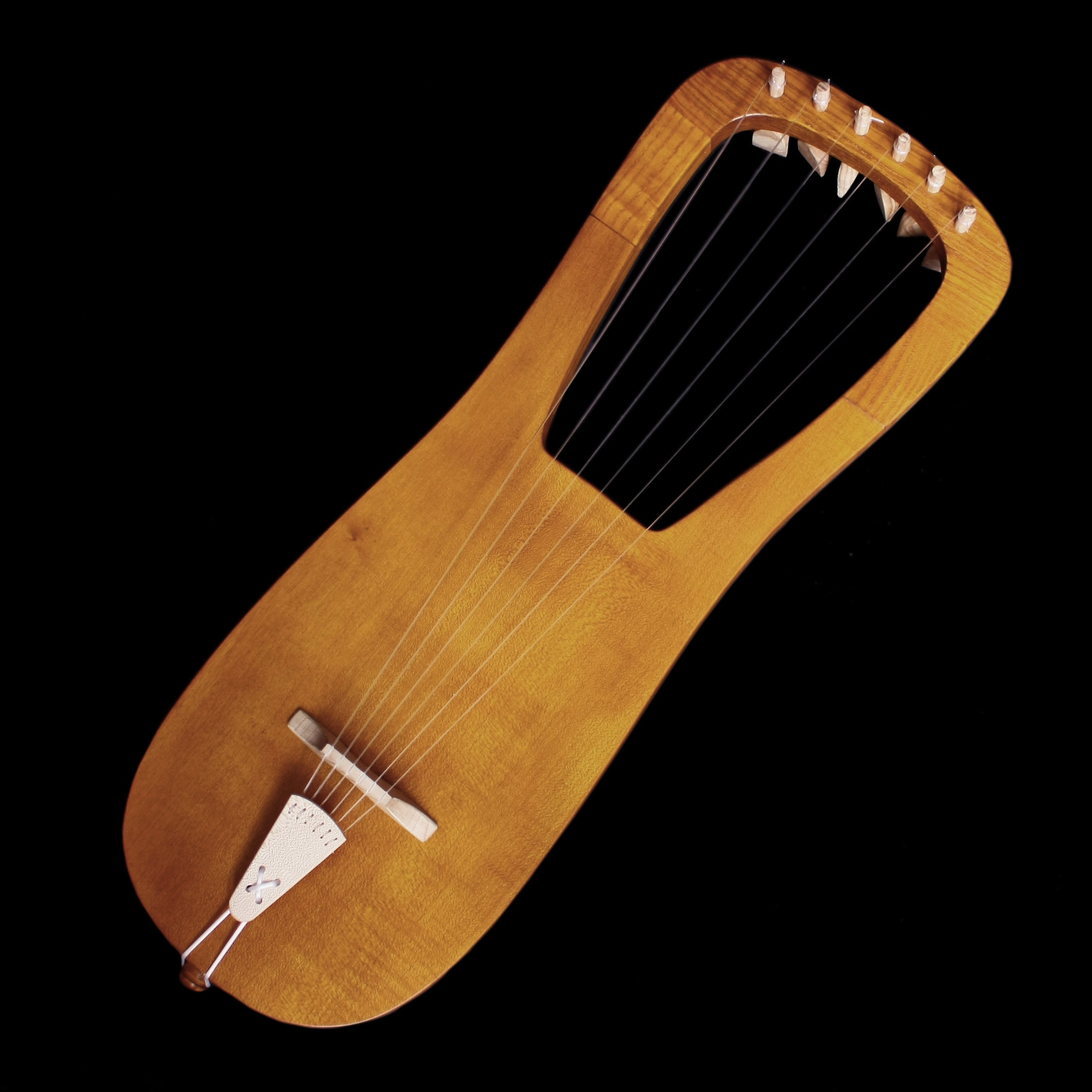 Handmade Dark Age Lyre Reproduction - Viking Instruments