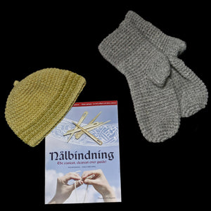 Nalbinding Instruction Book with Wool Products - Viking Crafts