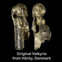 Load image into Gallery viewer, Original Valkrie Pendant from Hårby, Funen, Denmark