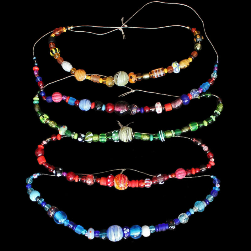 Glass Bead Necklaces - Viking Beads - Viking Jewelry