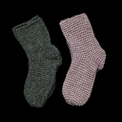 Wool Nalbinding Socks - Viking Footwear