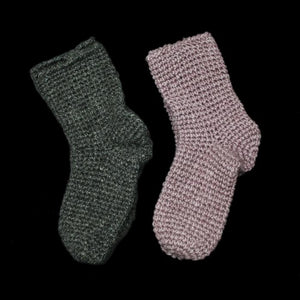 Wool Nalbinding Socks - Footwear