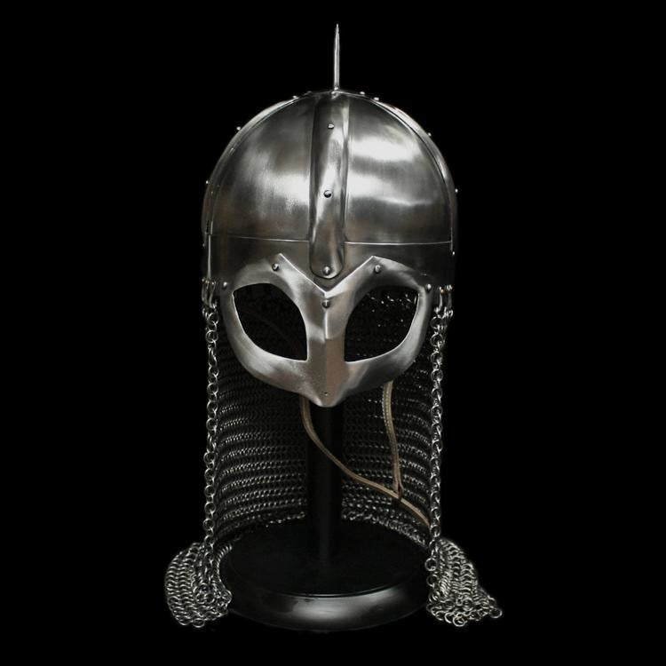 Gjermundbu Viking Helmet With Aventail - Helmets