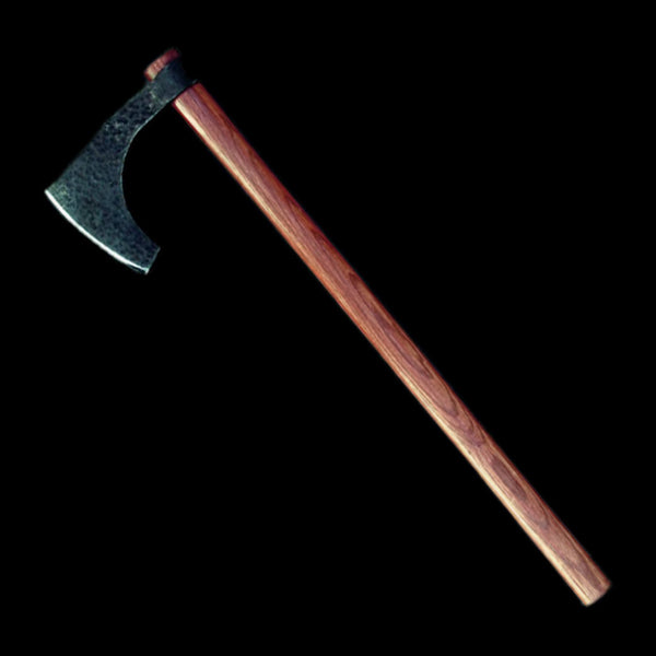 Sharp Viking Bearded Axe with Hardwood Handle - Viking Weapons