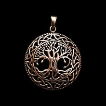 Load image into Gallery viewer, Yggdrasil Pendant - Bronze - Viking Pendants