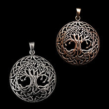 Load image into Gallery viewer, Yggdrasil Pendant - Viking Pendants