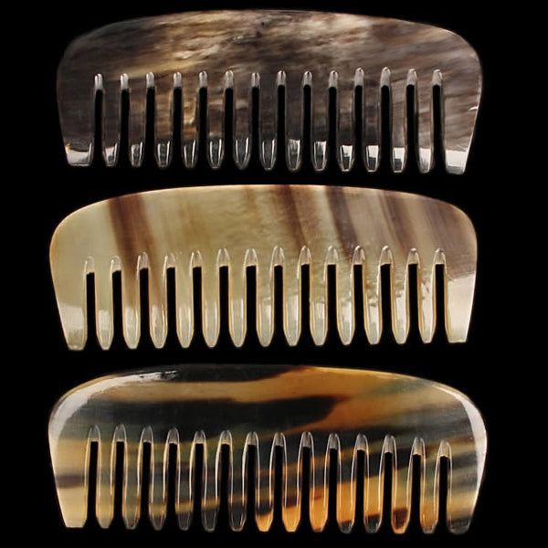 Chunky Horn Comb Selection - Viking Accessories