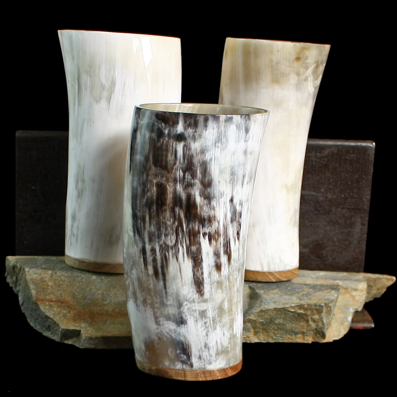 Large Ox Horn Beer Beaker