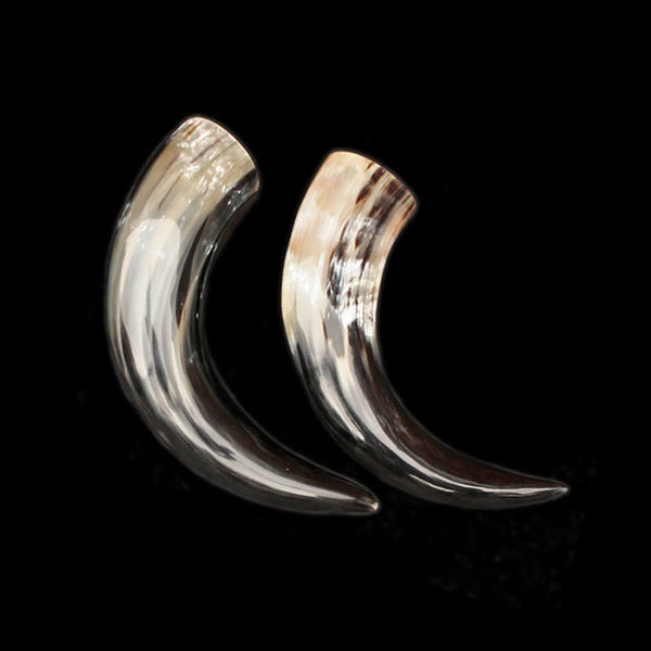 Medium Ox Polished Viking Drinking Horns - Viking Feasting Supplies