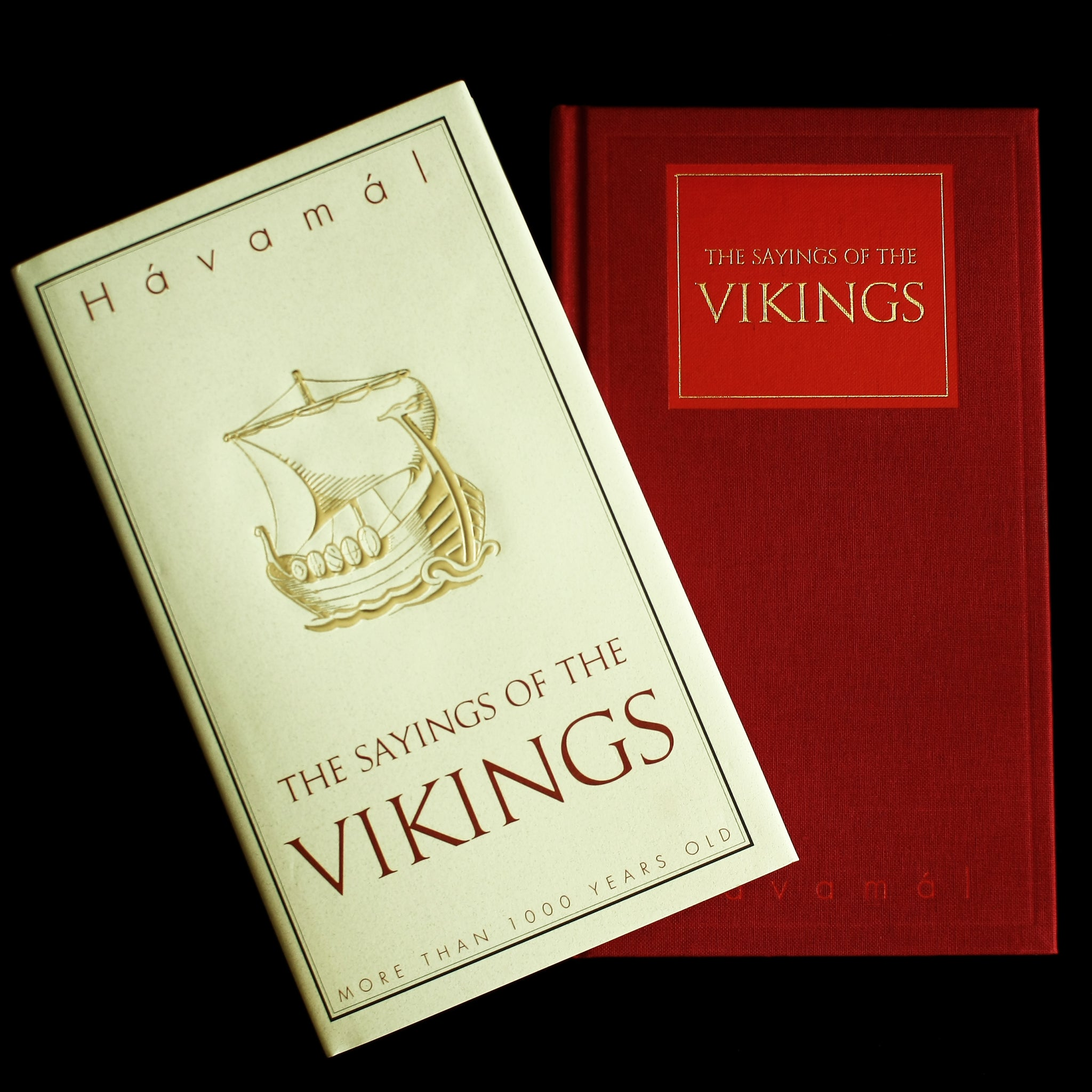 The Sayings of the Vikings Book - Hardback Version - Viking Books