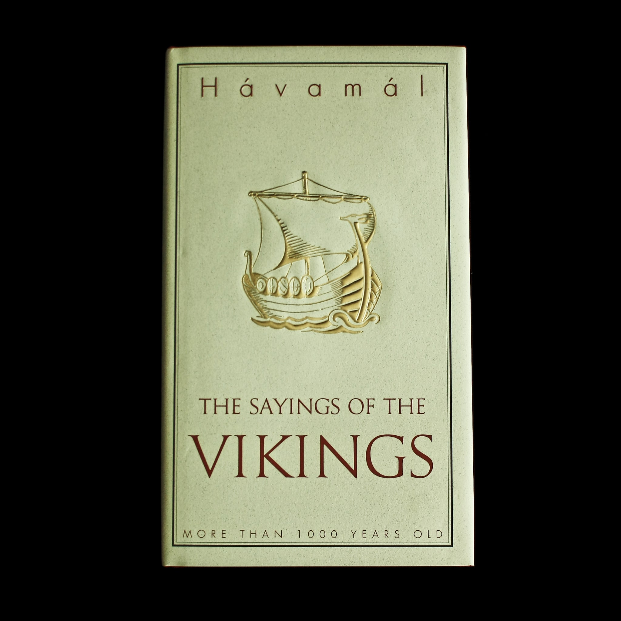The Sayings of the Vikings Book - Hardback Version - Front Cover - Viking Books