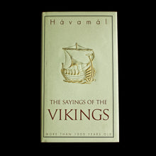 Load image into Gallery viewer, The Sayings of the Vikings Book - Hardback Version - Front Cover - Viking Books